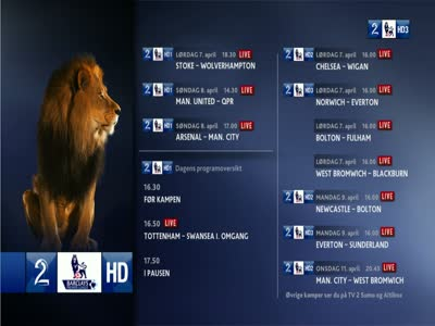TV 2 Premier League 3 HD